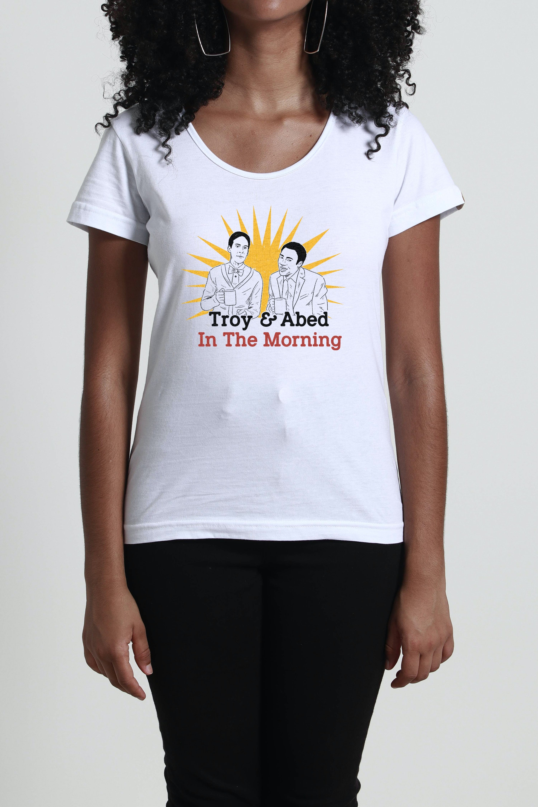 Camiseta Troy And Abed In The Morning