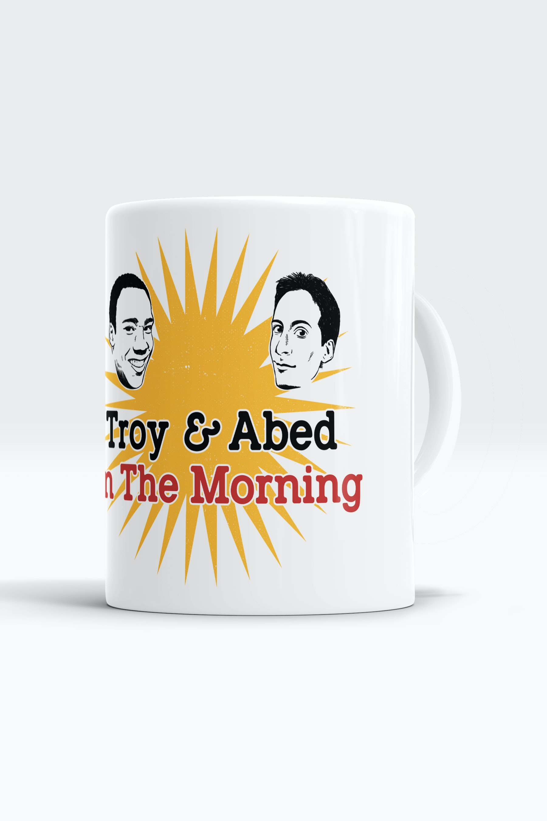Caneca Troy And Abed In The Morning
