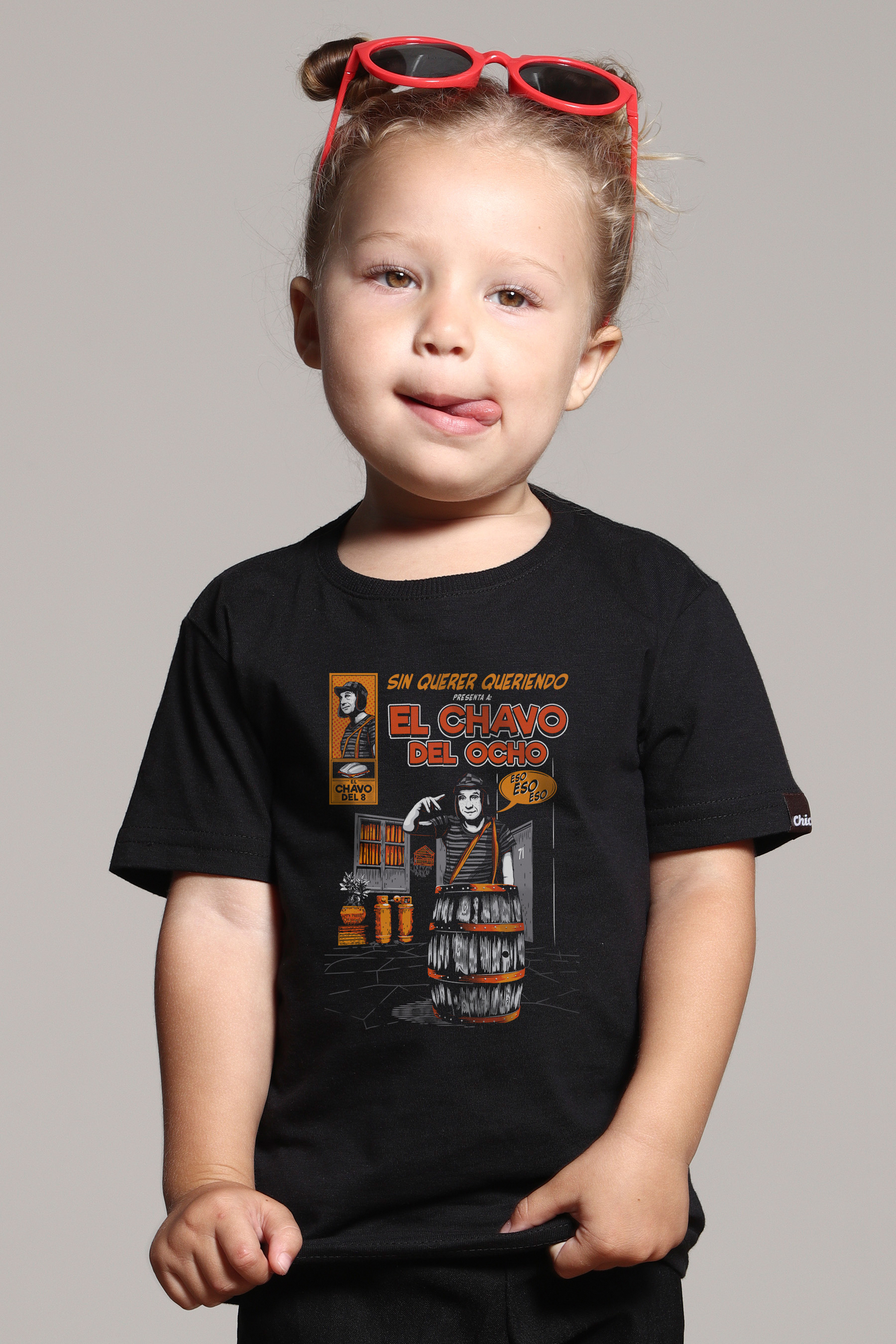 Camiseta Infantil El Chavo Comics