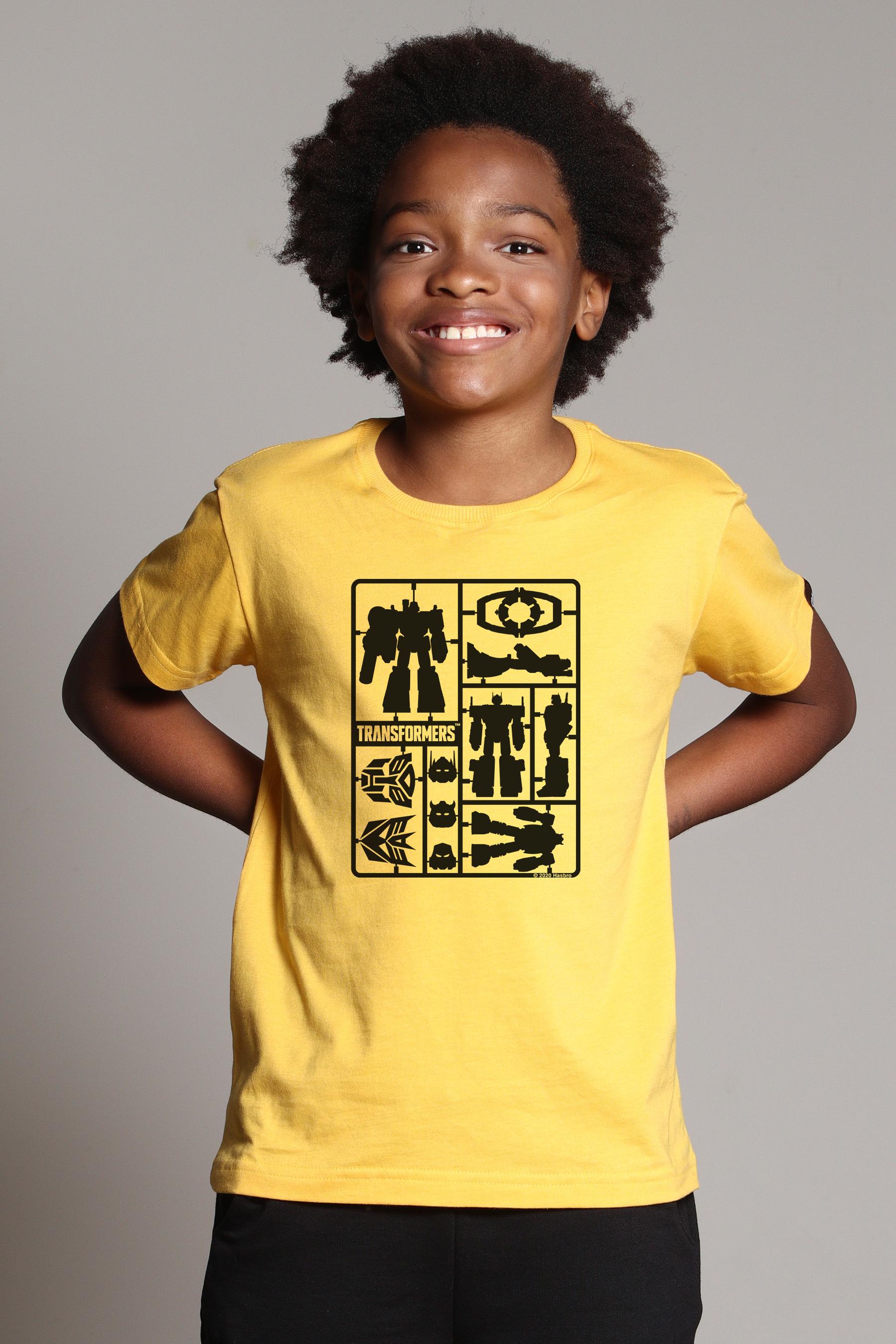 Camiseta Infantil Transformers