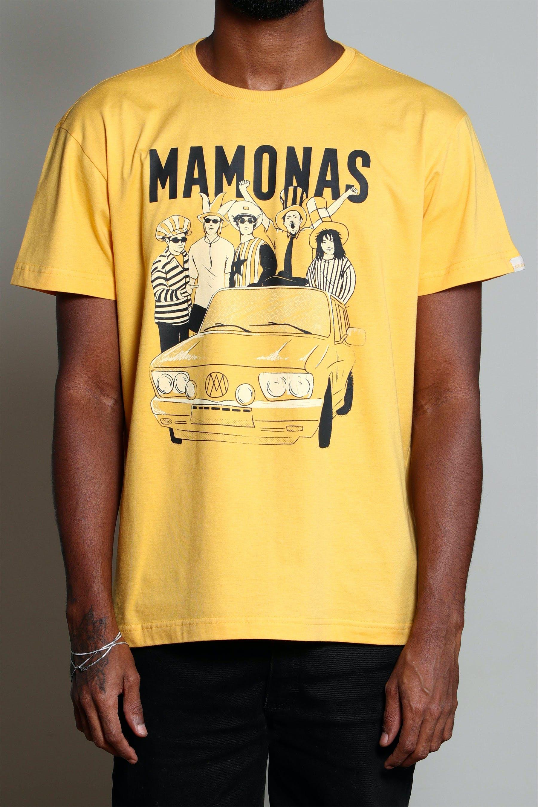 Camiseta Brasília Amarela