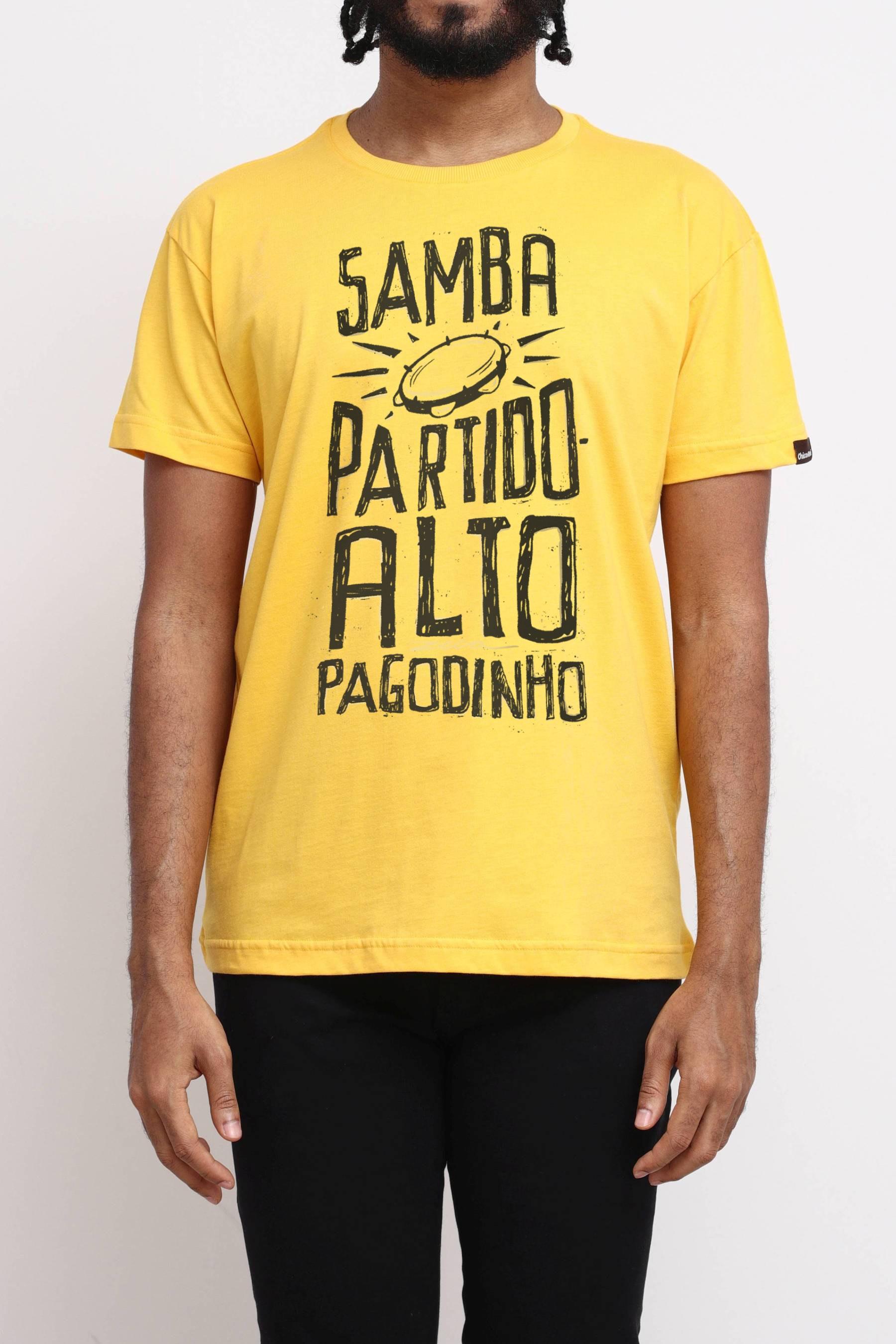 Camiseta Samba, Partido Alto, Pagodinho
