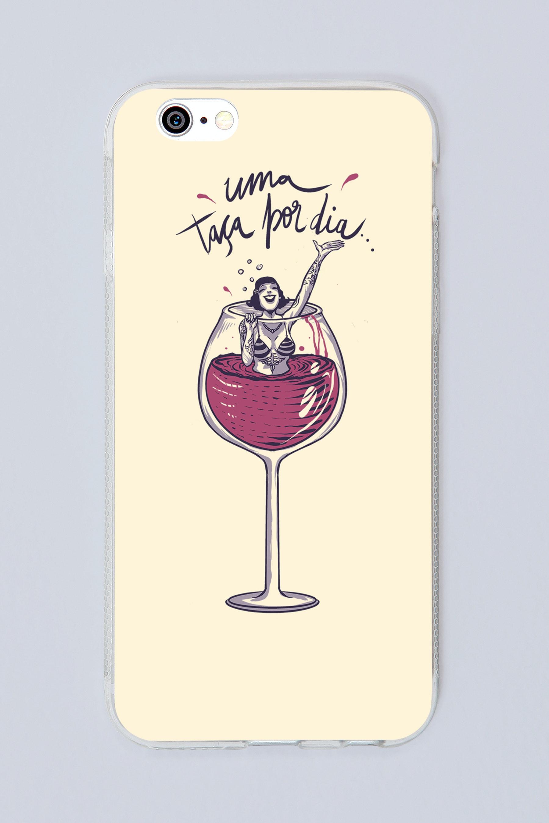 Capa Uma Taça De Vinho