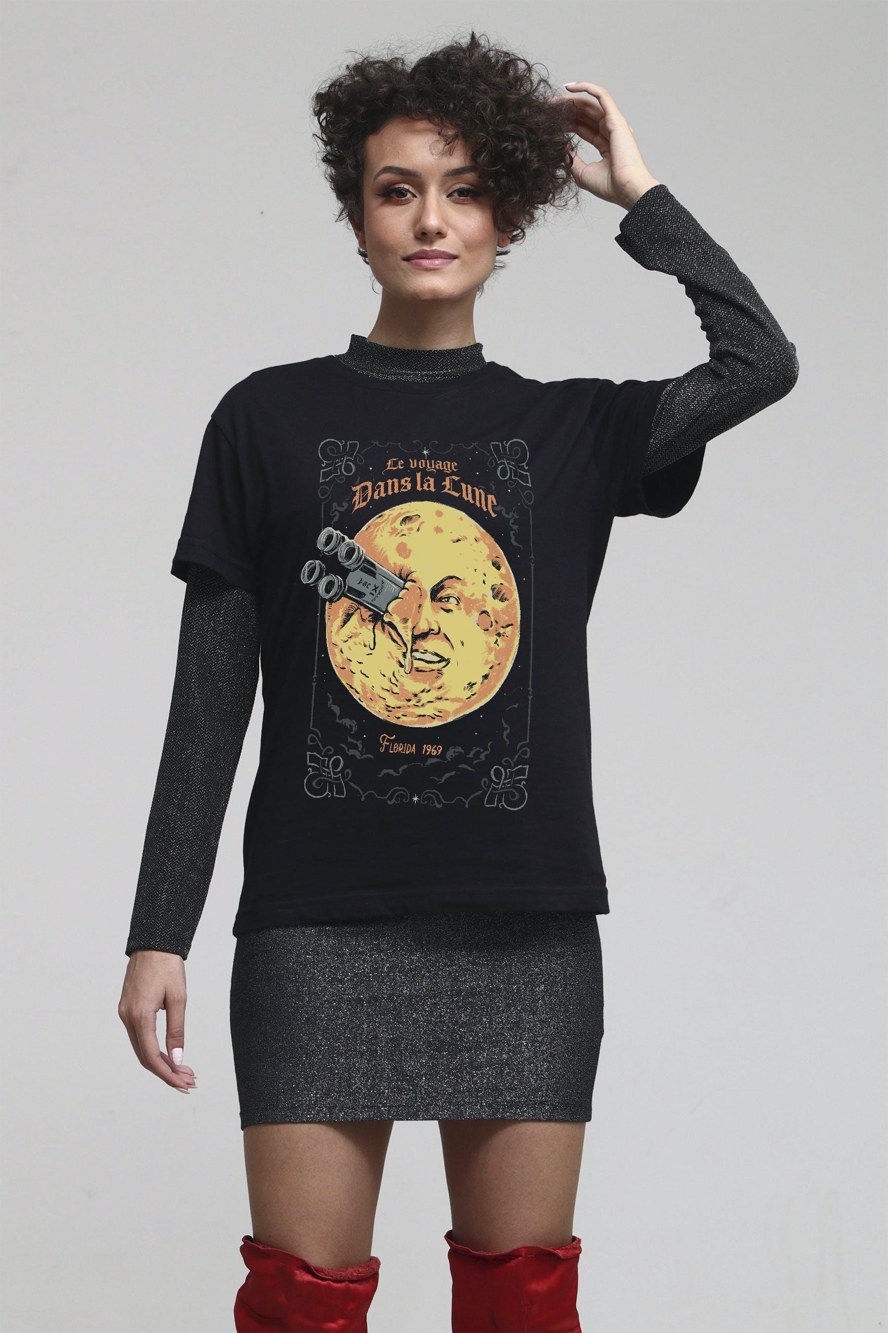Camiseta Trip To The Moon