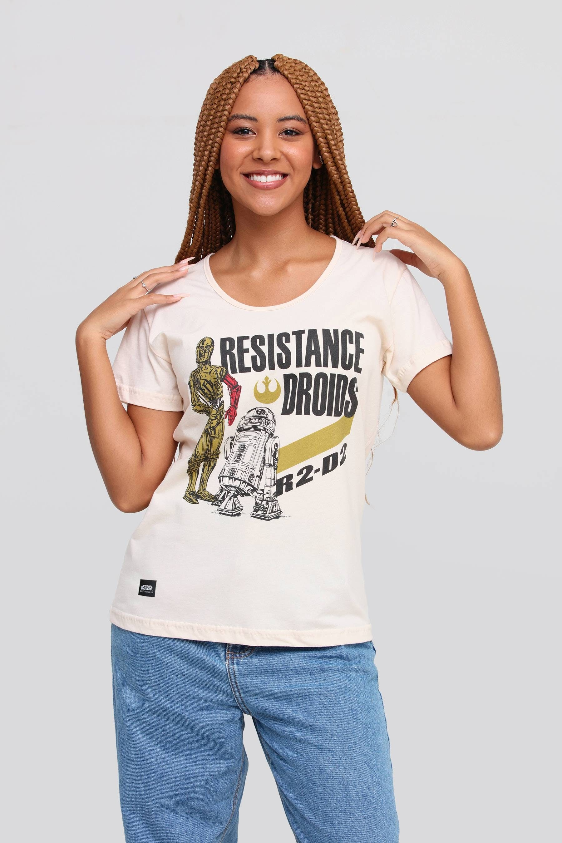 Camiseta Resistance Droids