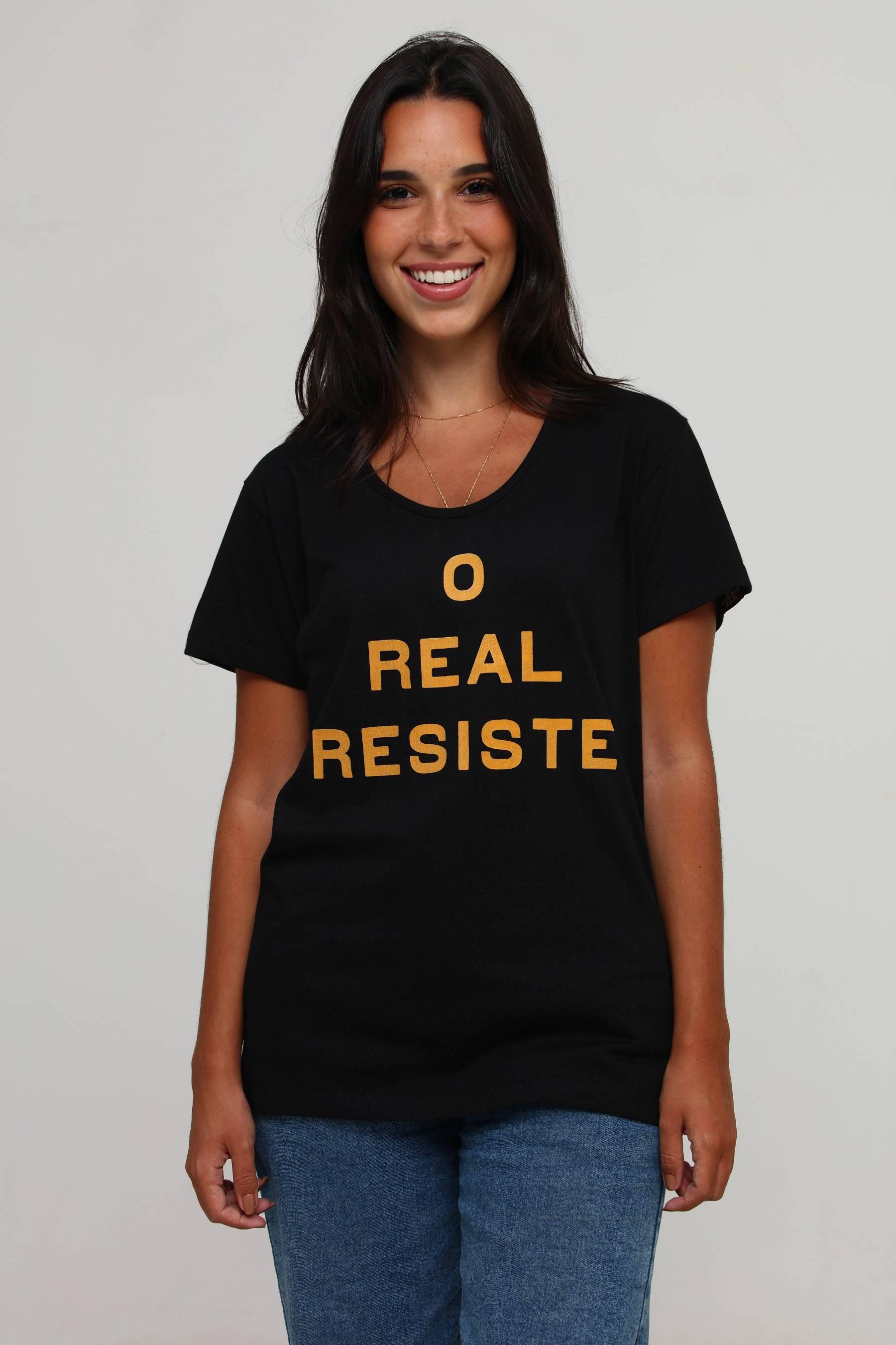 Camiseta O Real Resiste