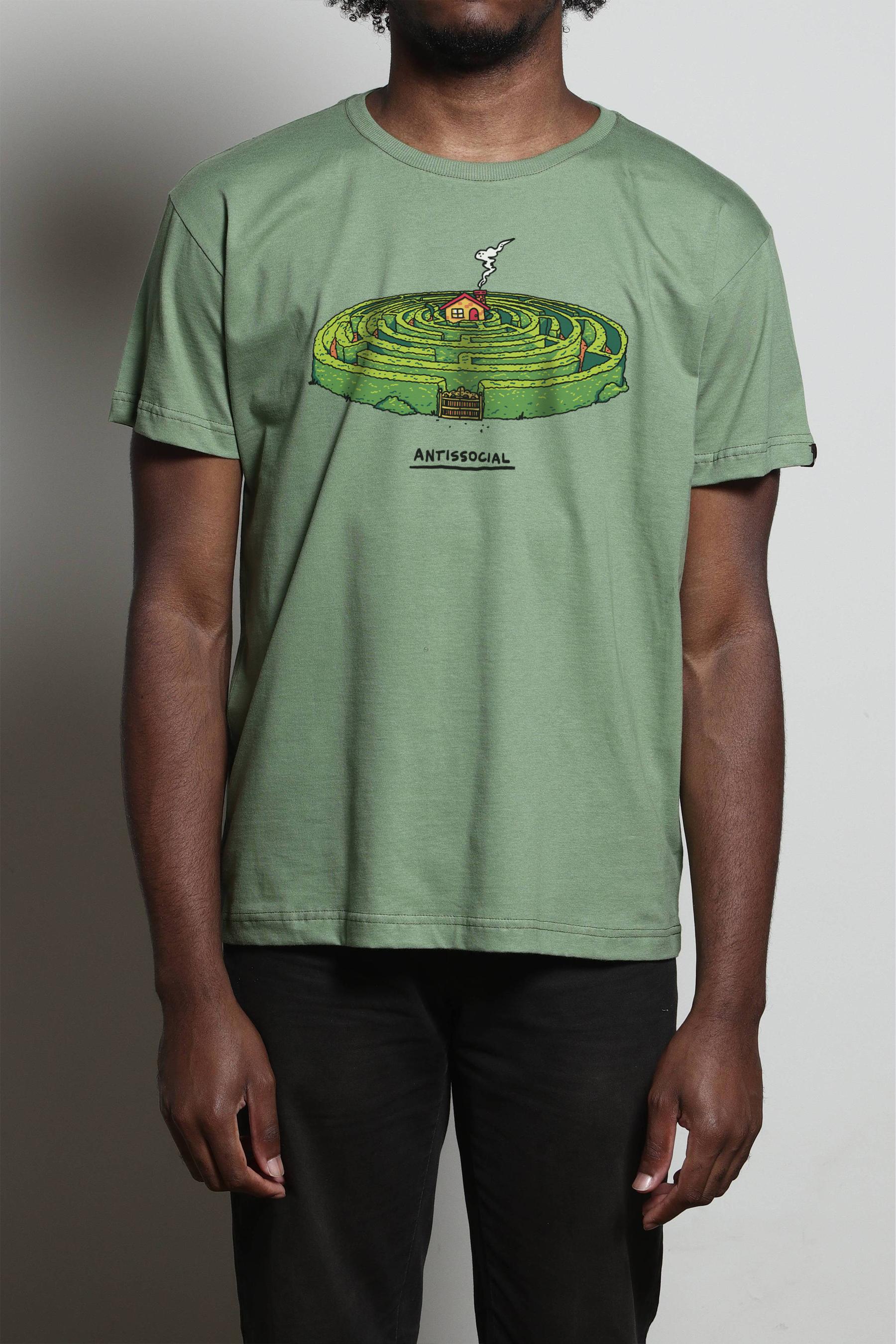 NÃO UTILIZAR!! Camiseta Bosque Antissocial