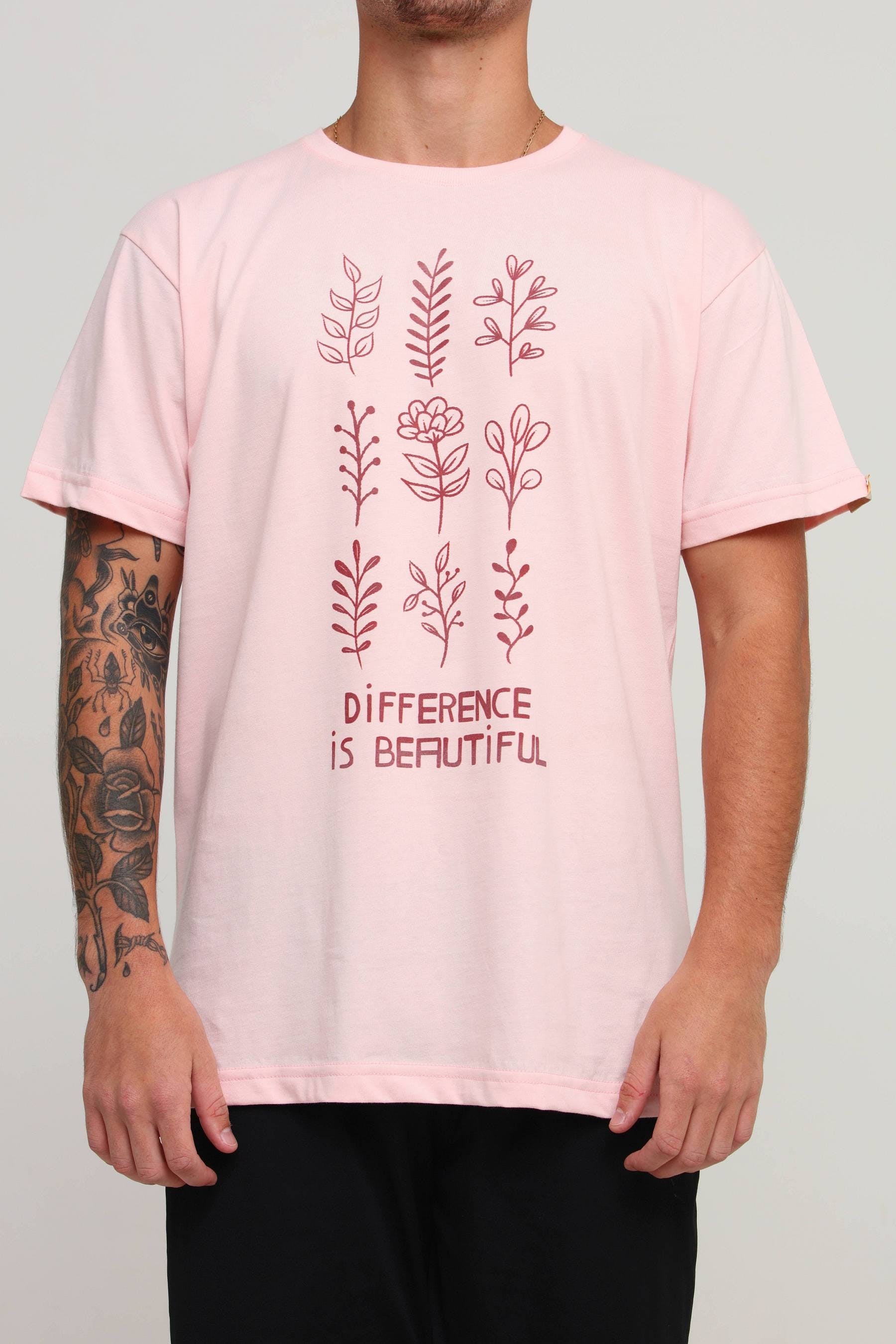 Camiseta Difference is Beautiful