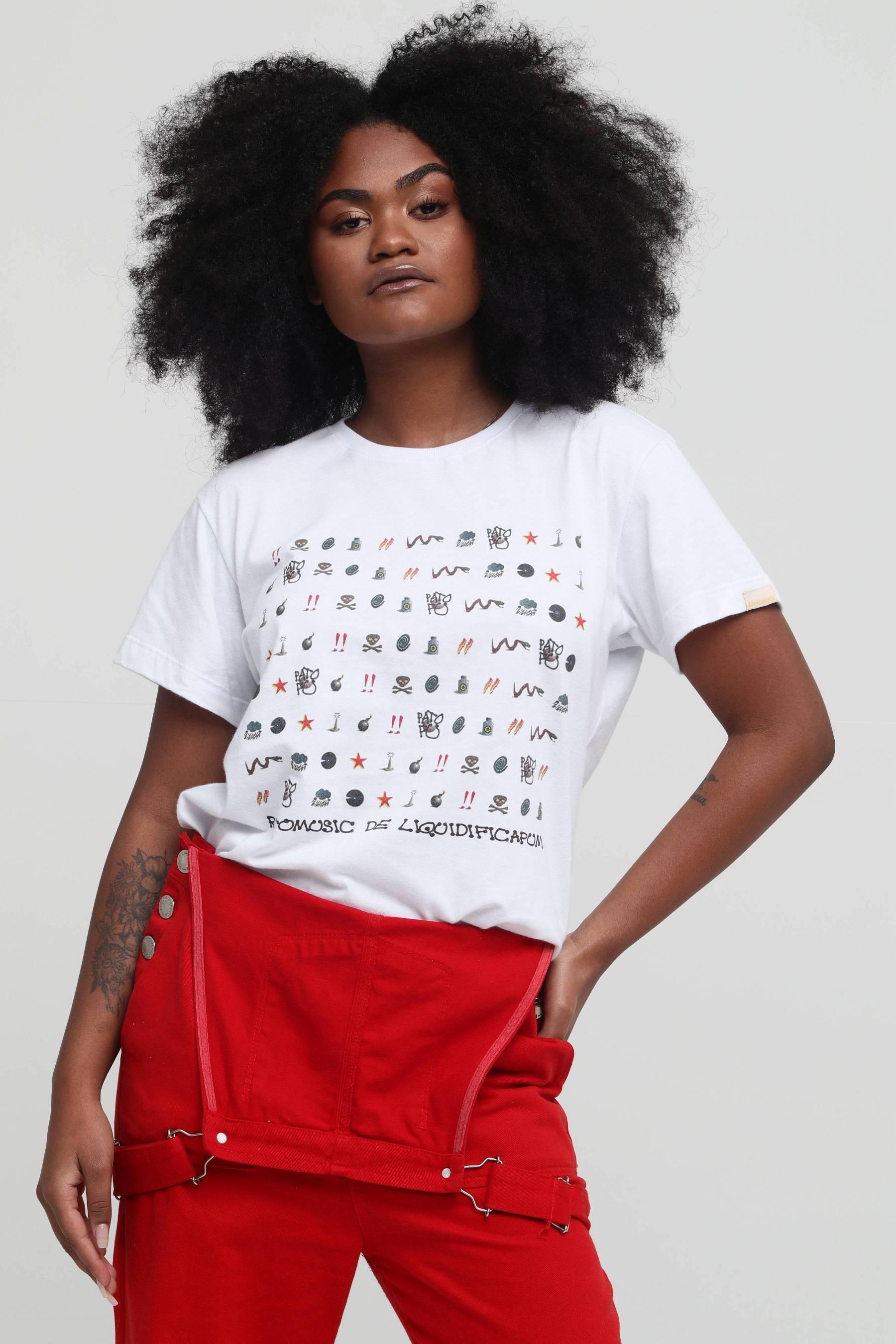 Camiseta Rotomusic de Liquidificapum