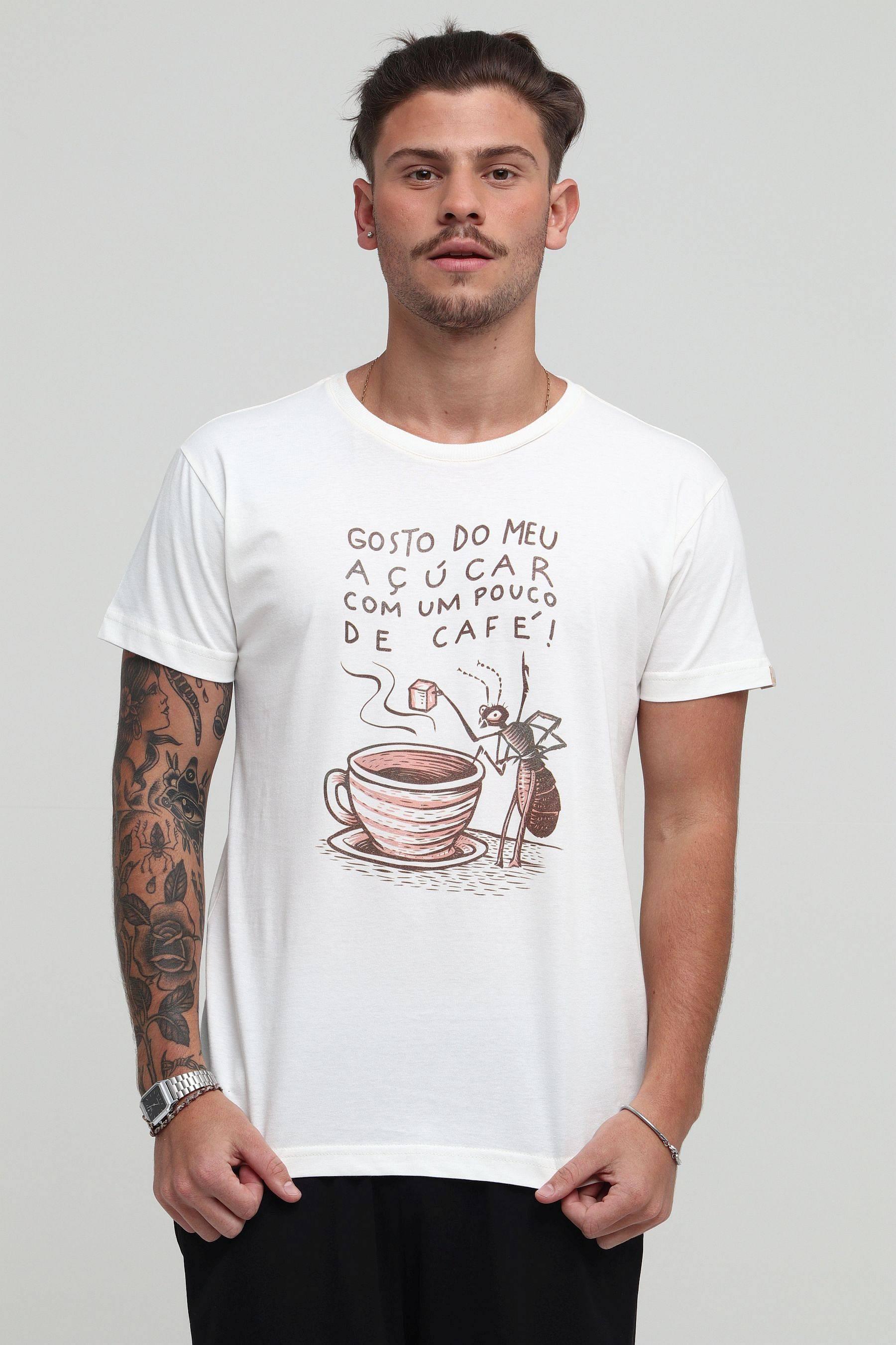 Camiseta Açúcar no Café