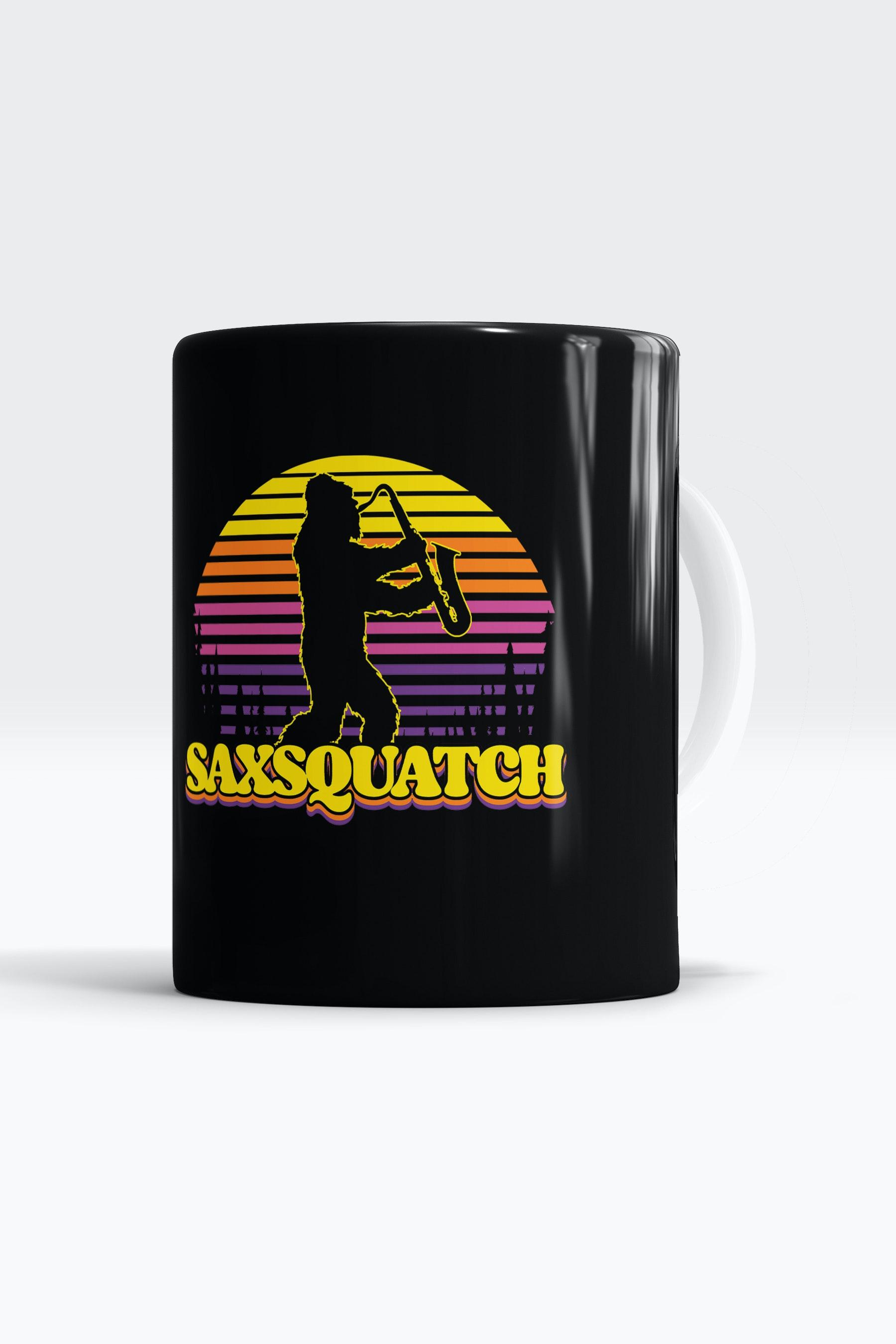 Caneca Saxquatch