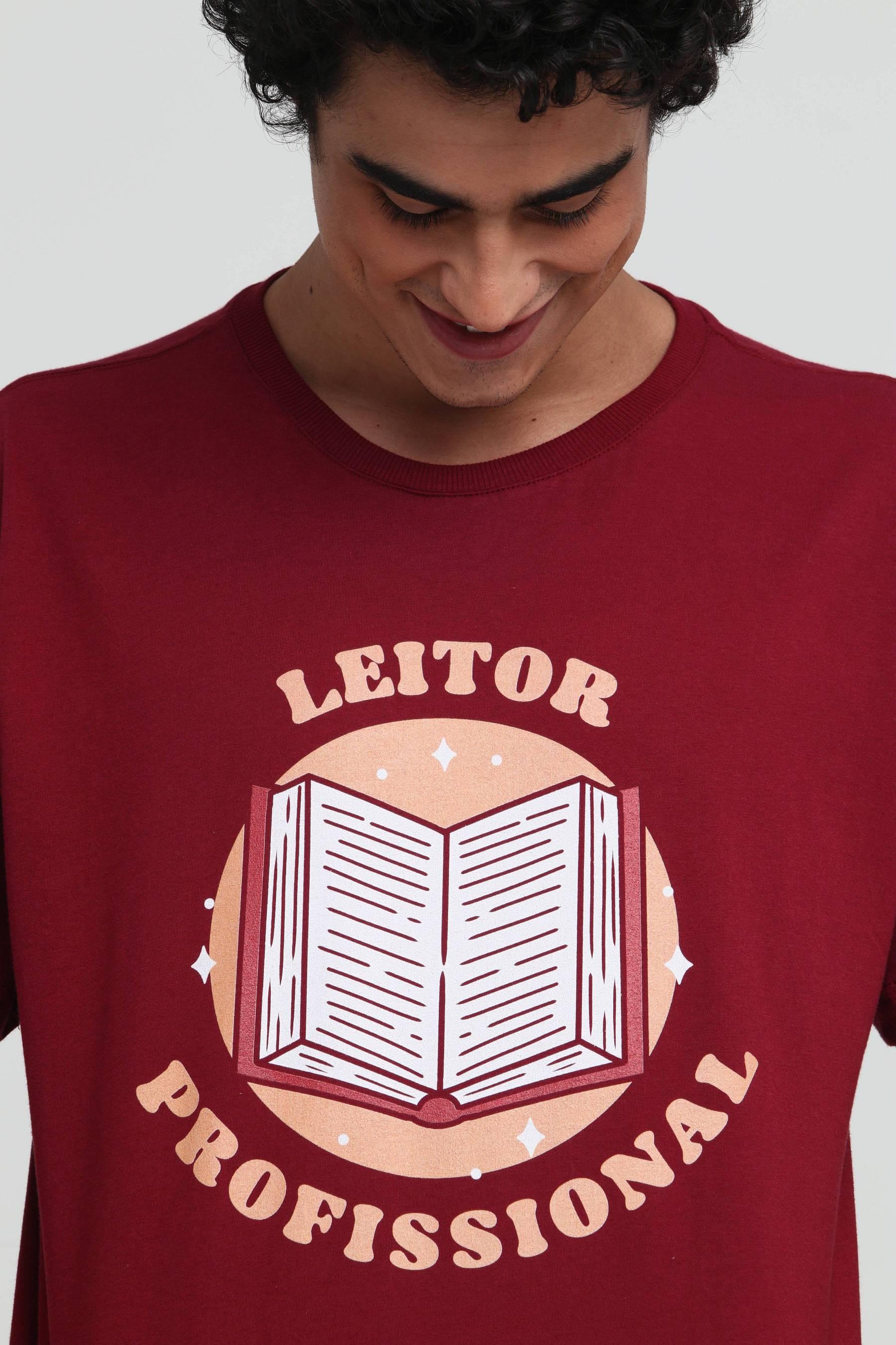 Camiseta Leitor Profissional