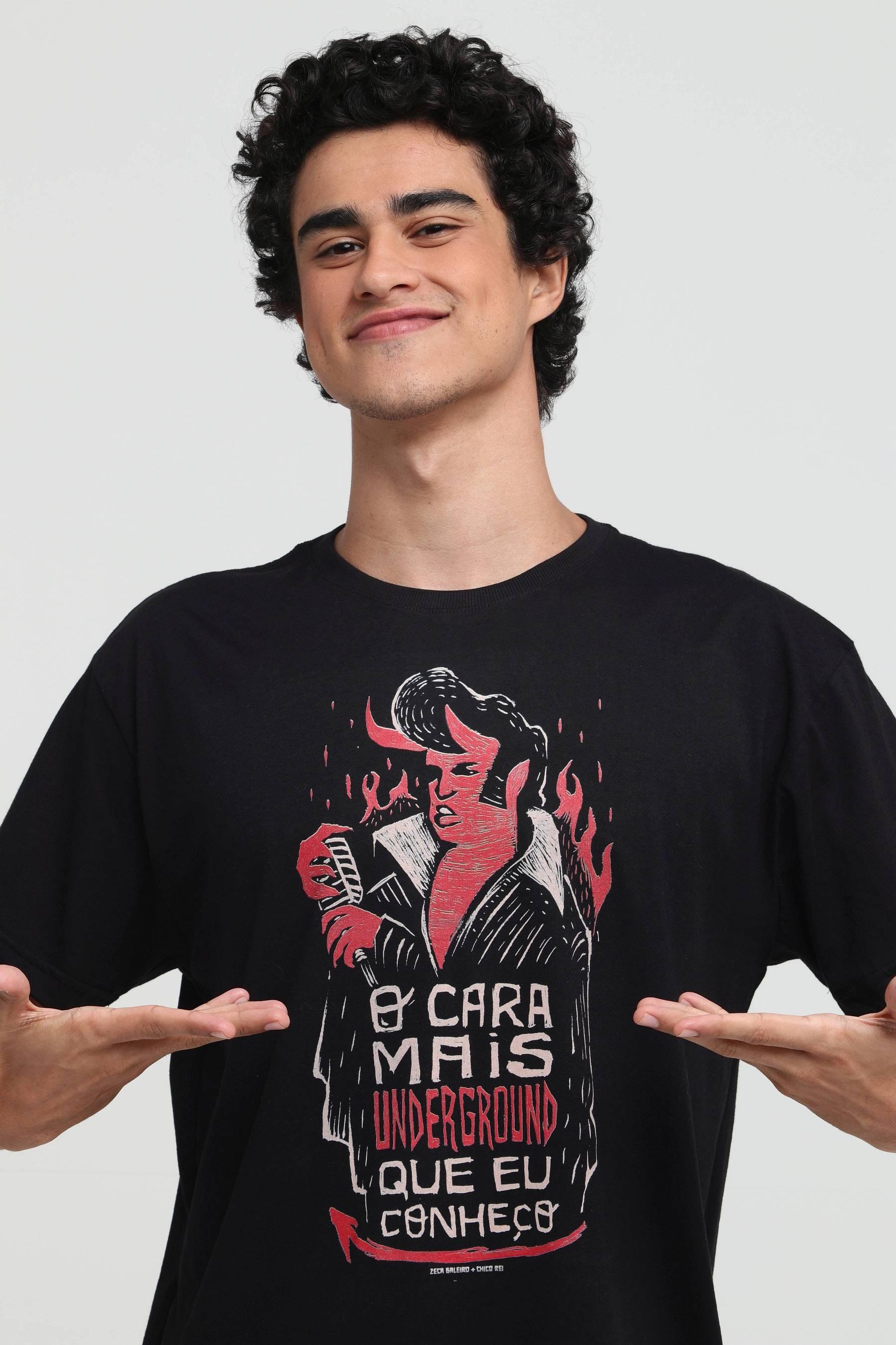 Camiseta Cara Underground