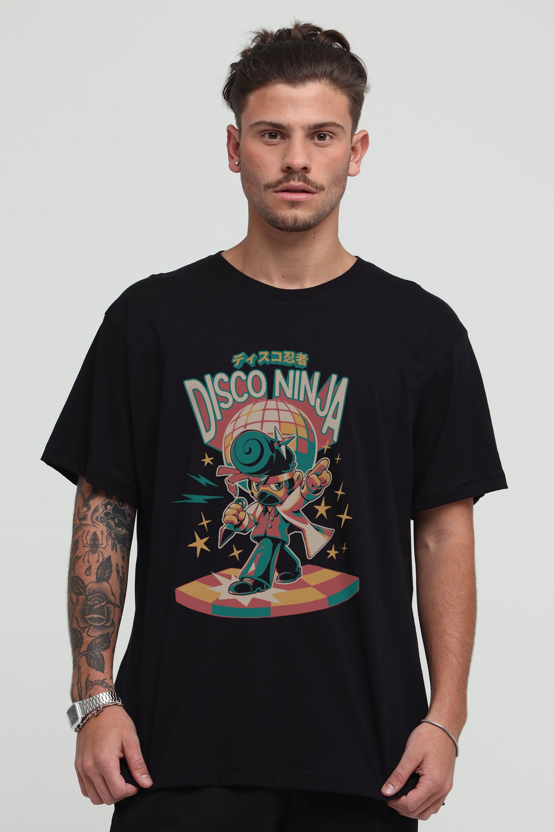 Camiseta Disco Ninja