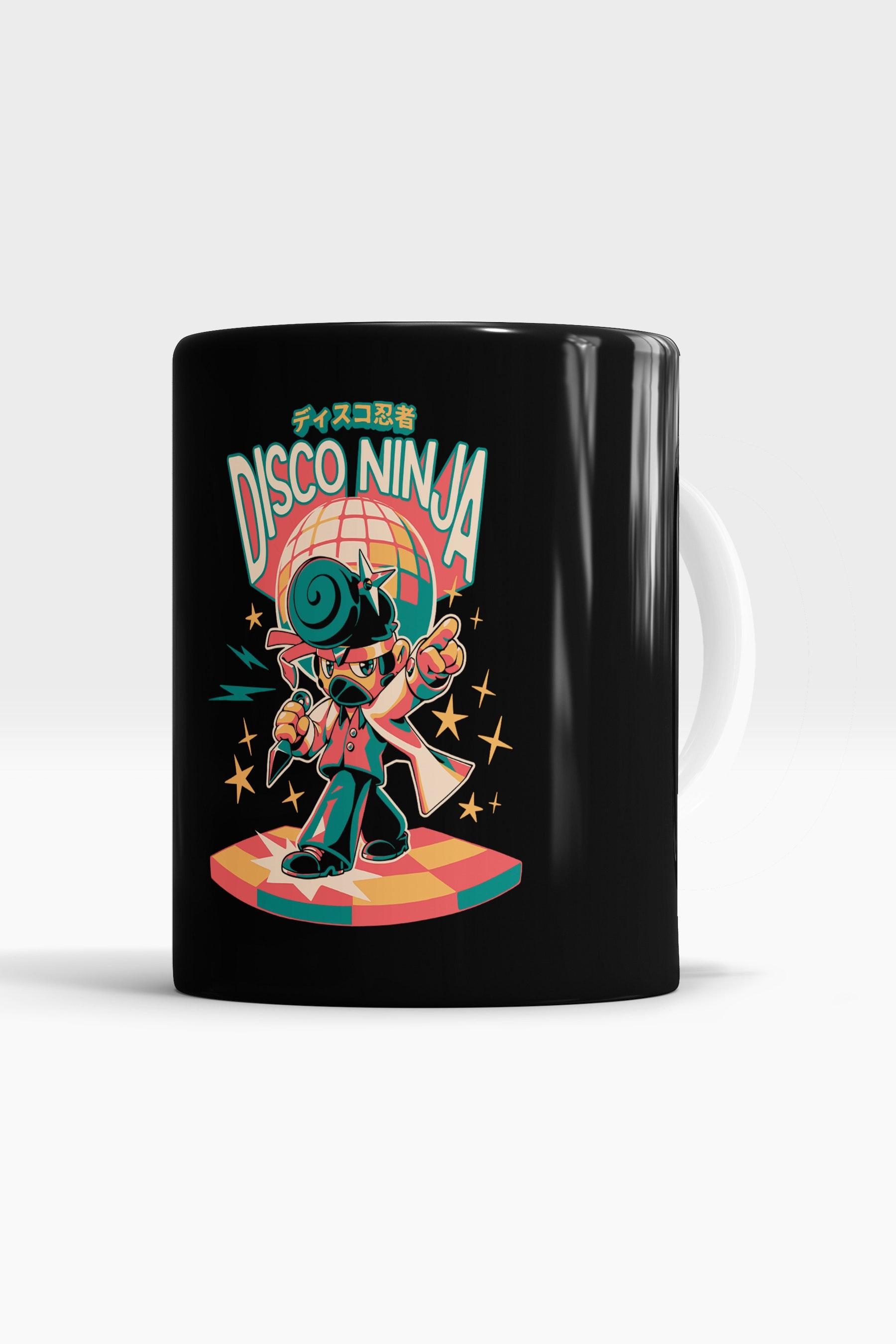 Caneca Disco Ninja