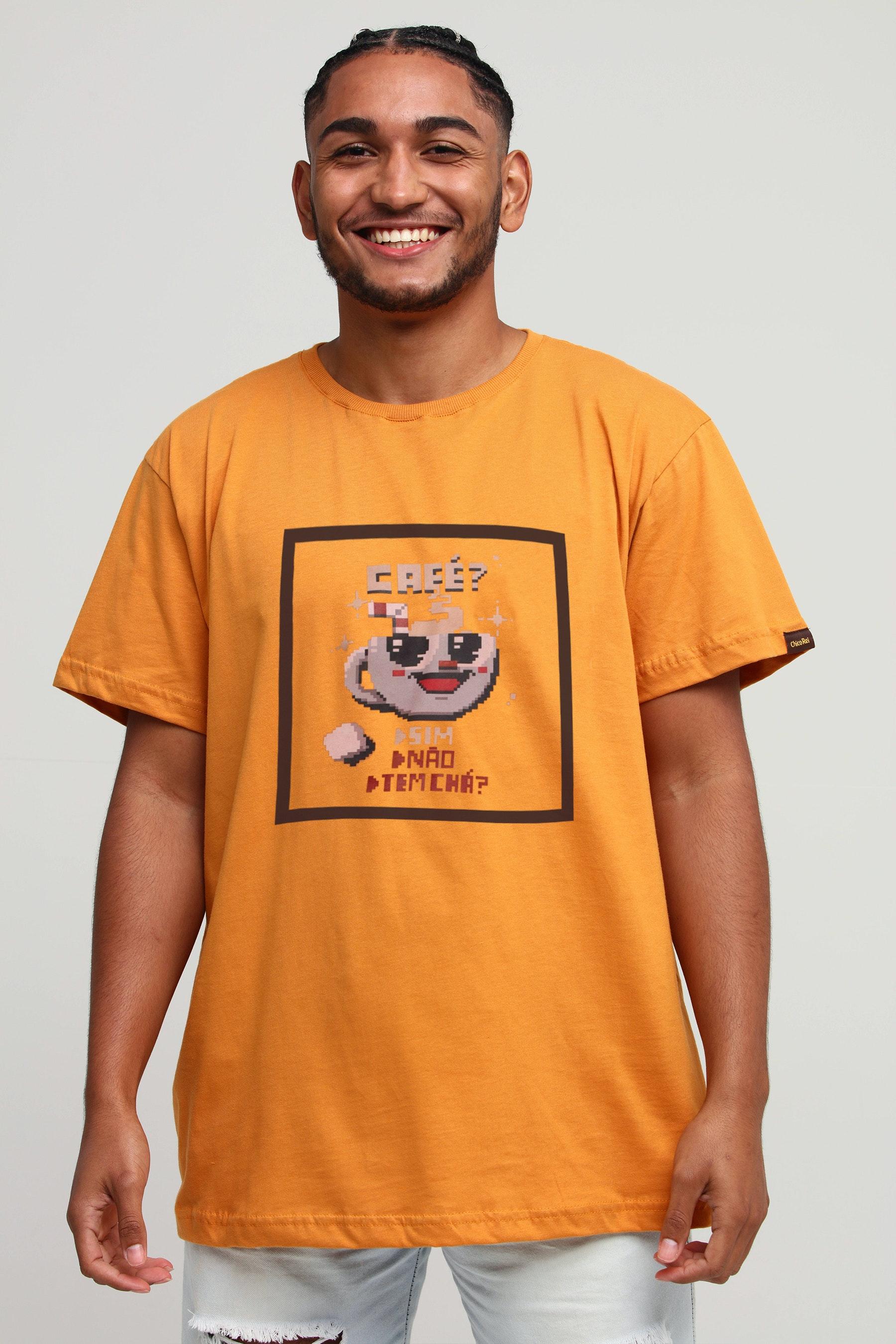 Camiseta Chicrinho Café Âmbar