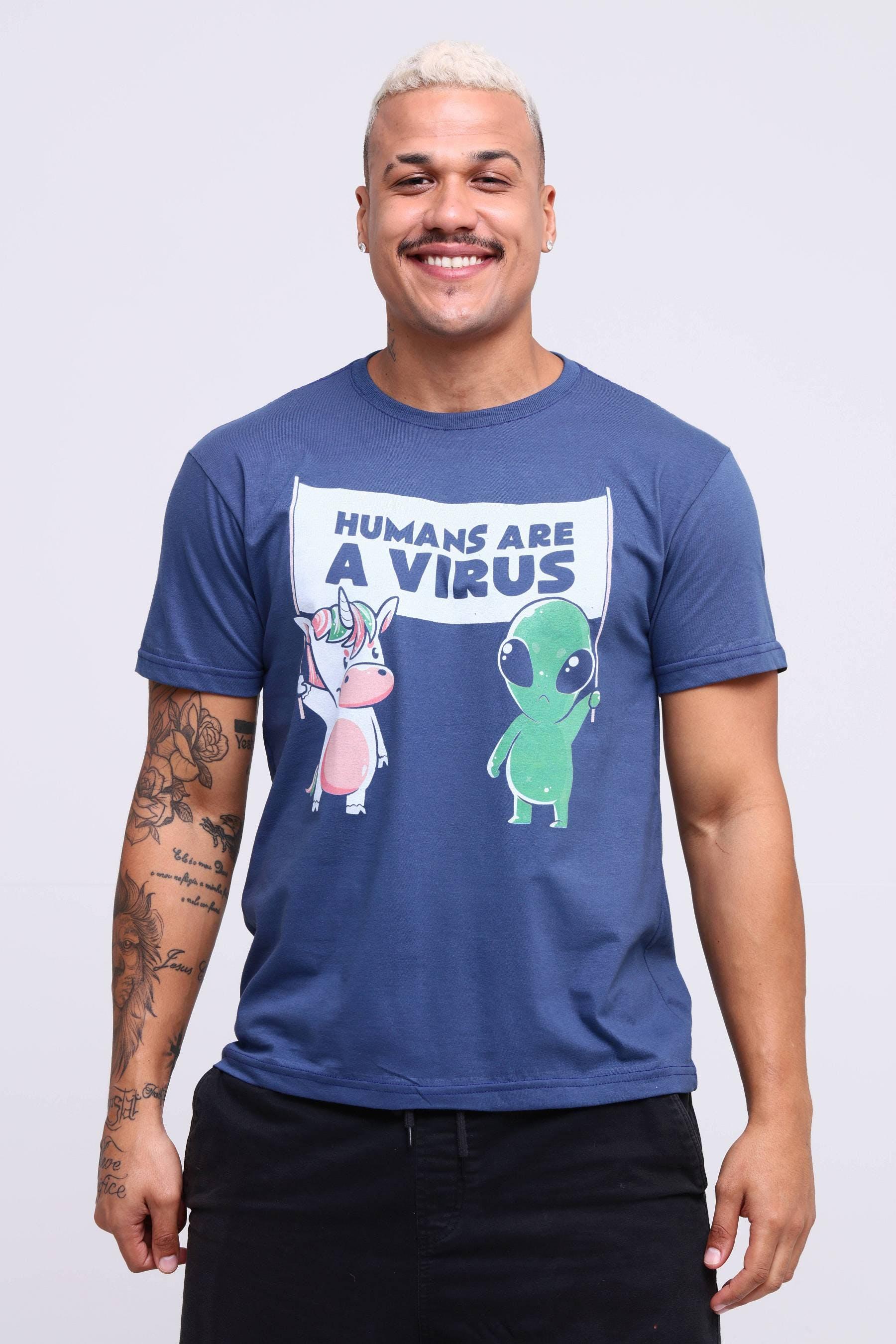 CamisetaHumans Are a Virus