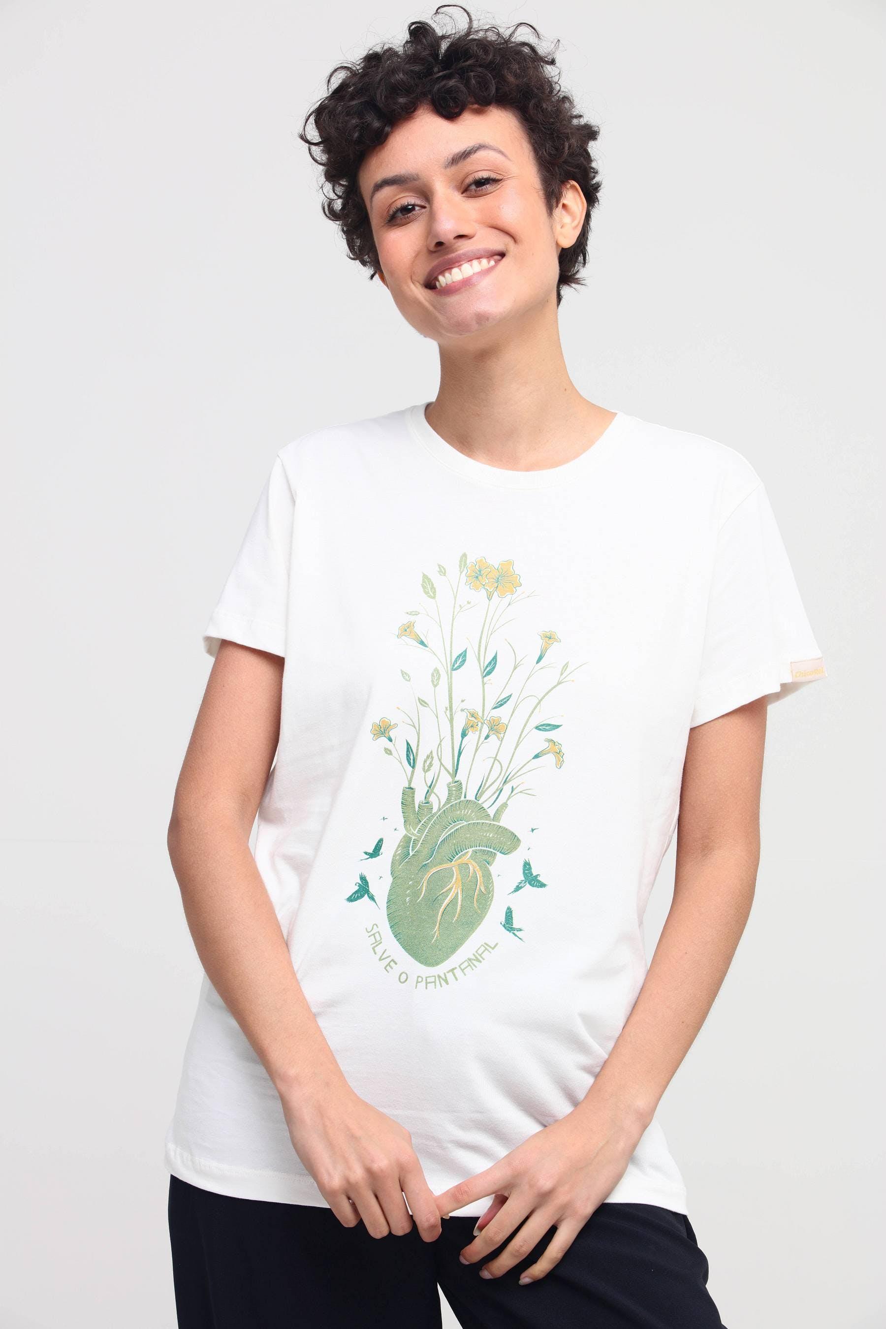 Camiseta Salve o Pantanal