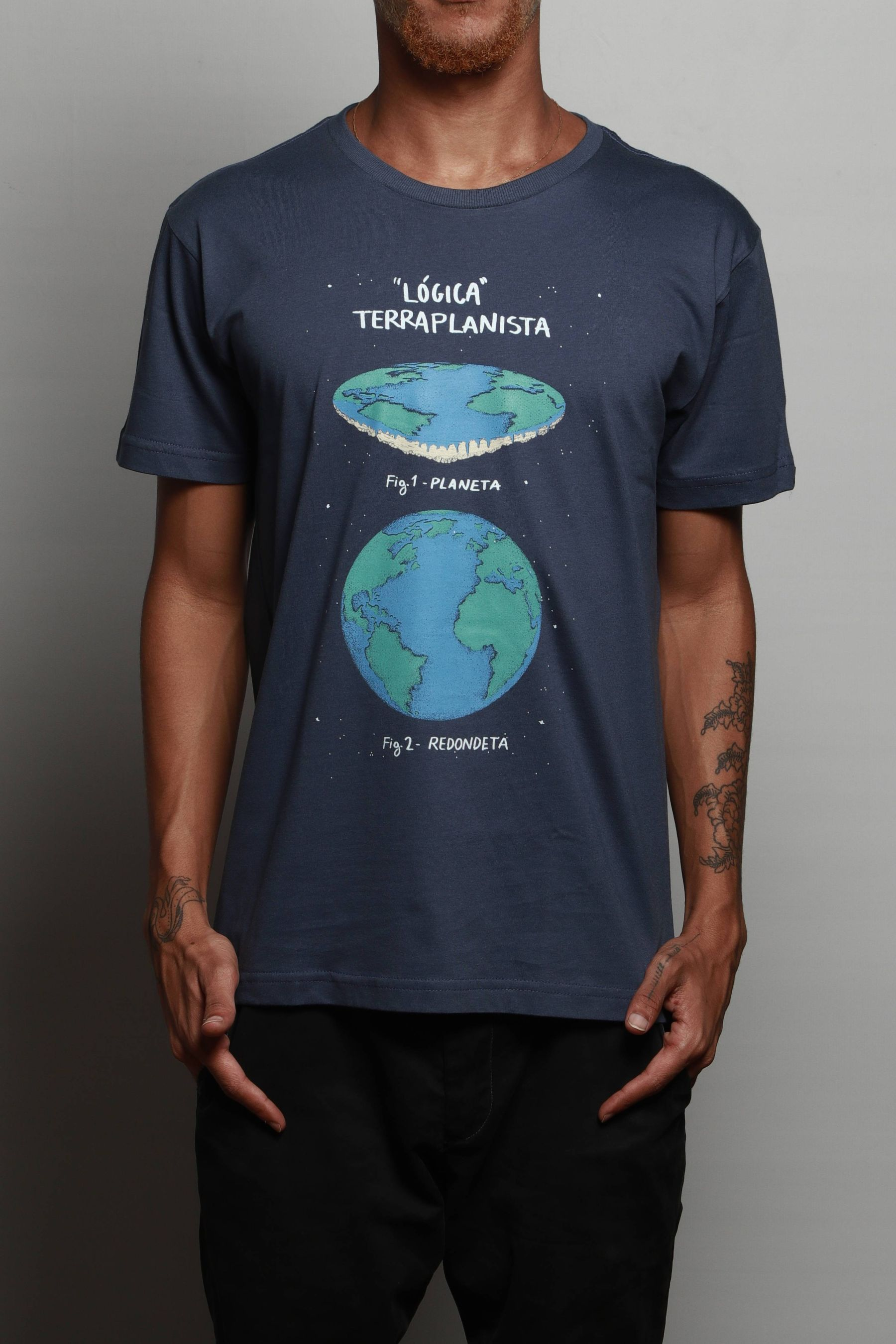 Camiseta Terra Plana
