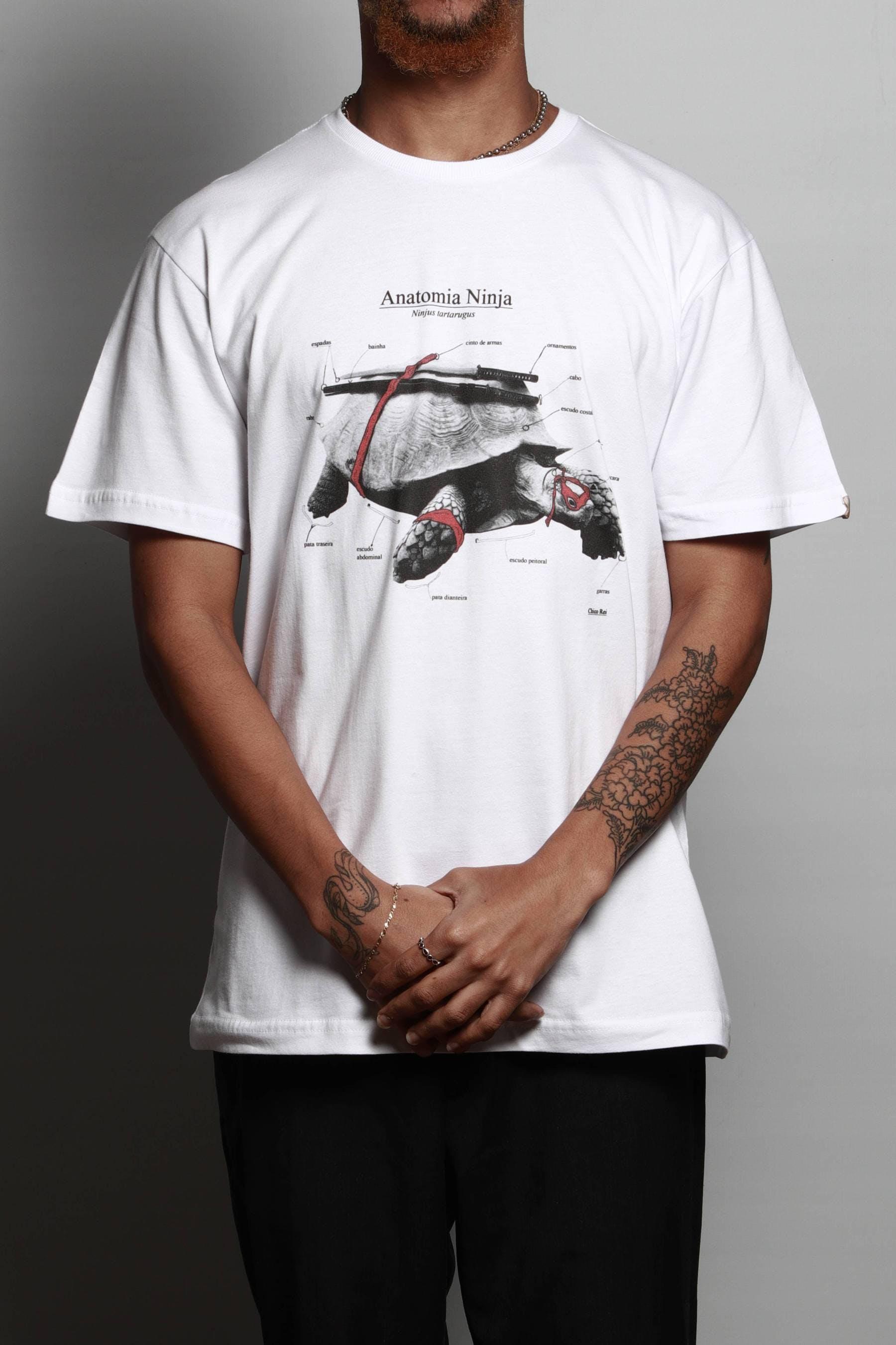 Camiseta Anatomia Ninja