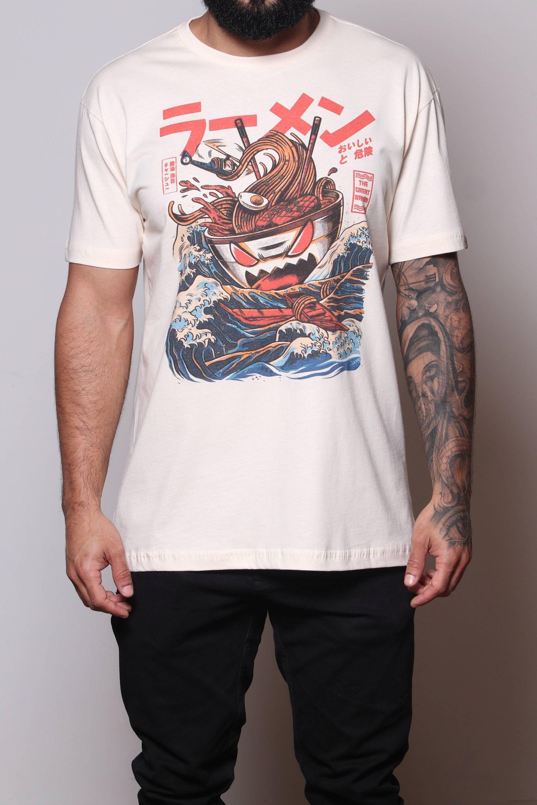 Camiseta Great Ramen of Kanagawa