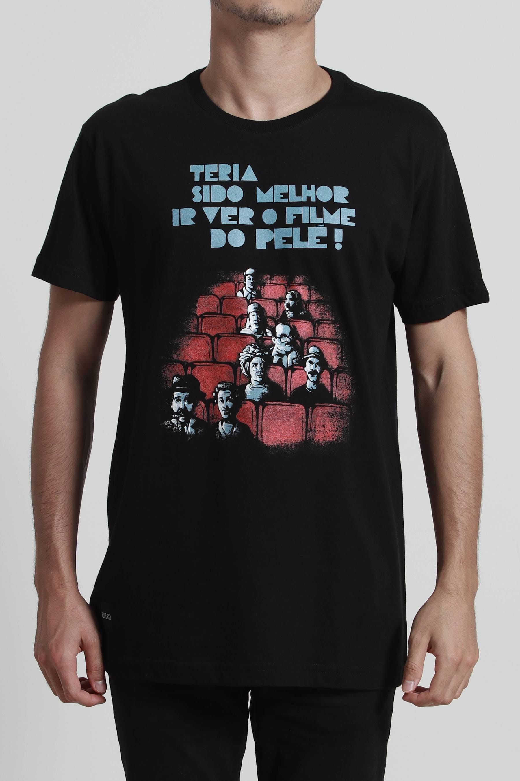Camiseta Filme do Pelé