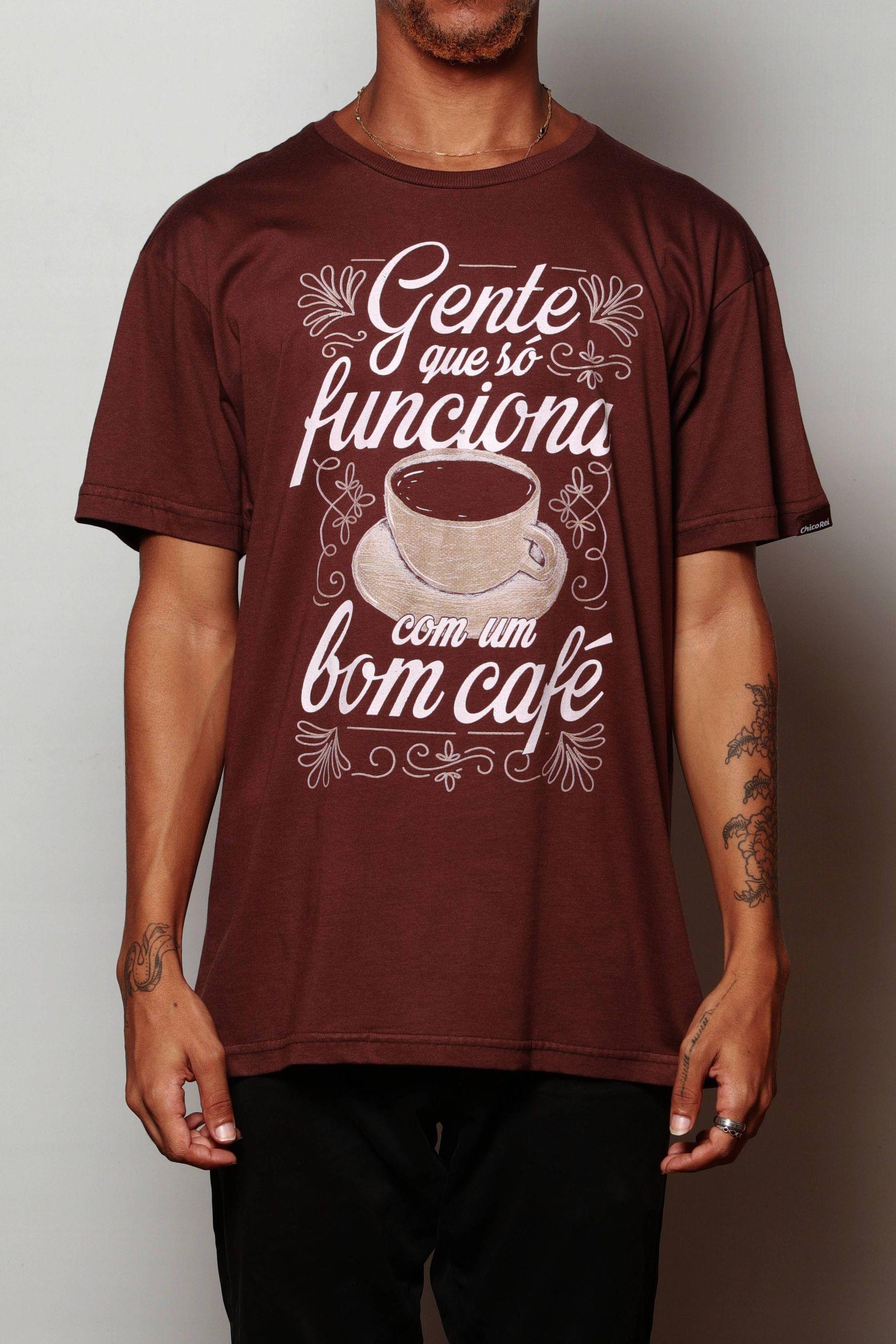 Camiseta Bom Café