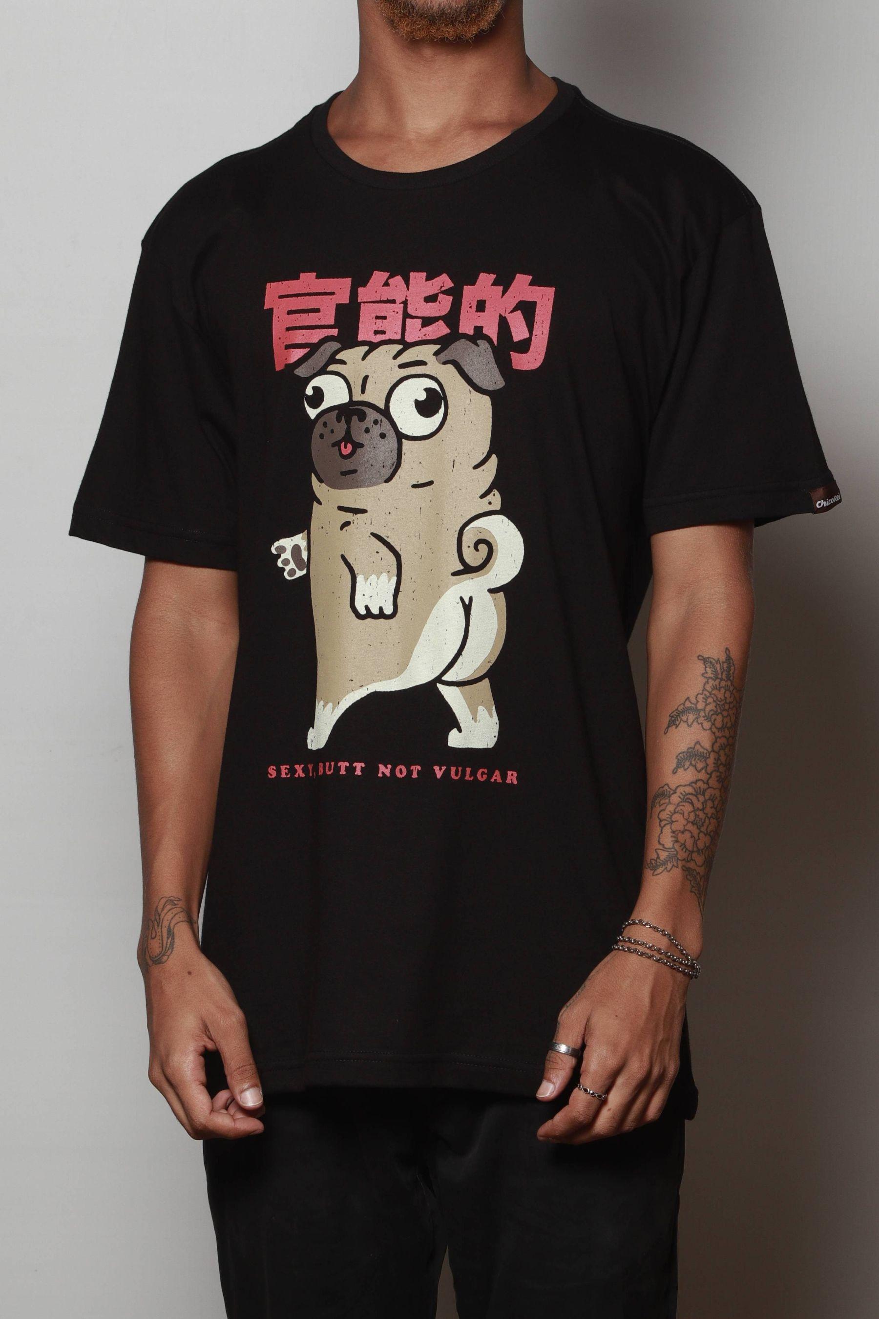 Camiseta Sexy, Butt Not Vulgar