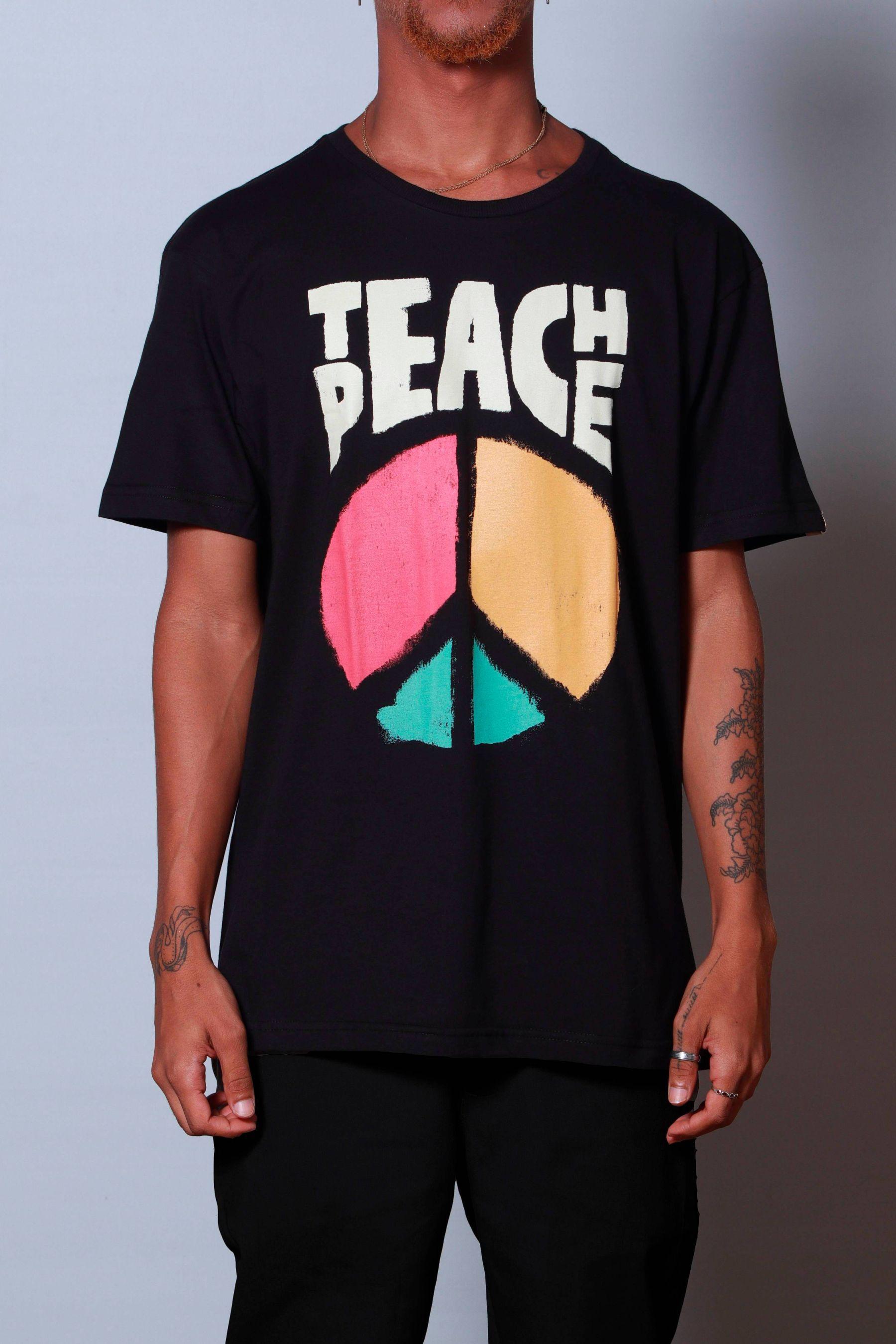 Camiseta Teach Peace