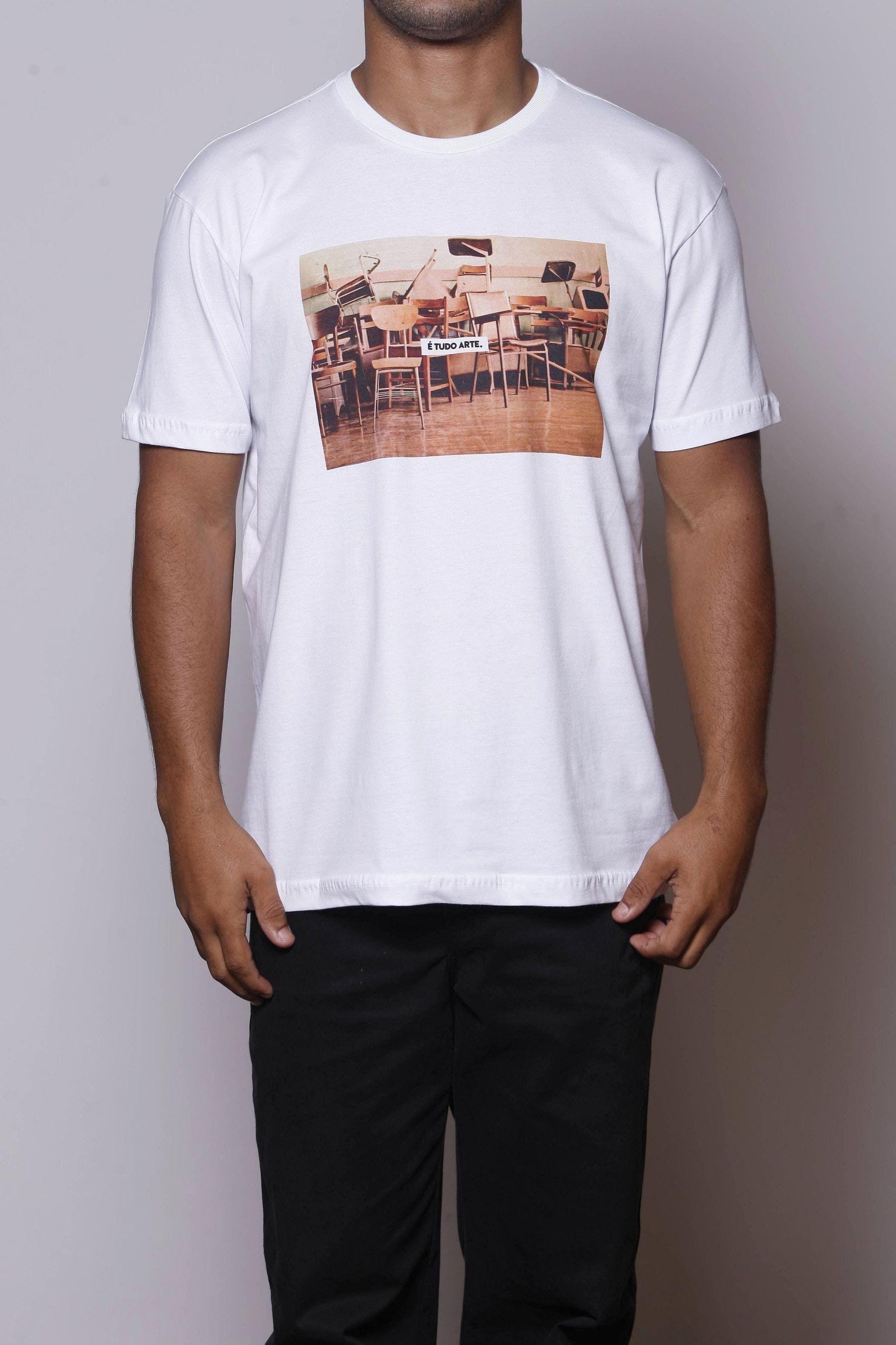 Camiseta É Tudo Arte