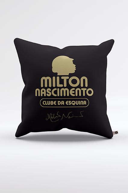 Almofada Milton Clube Da Esquina