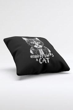 Estampa Almofada Punk Cat