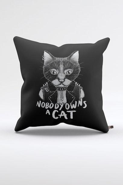 Almofada Punk Cat