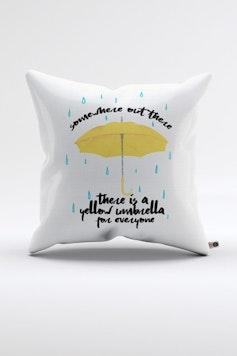 Almofada Yellow Umbrella