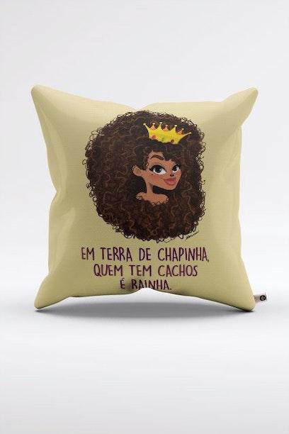 Almofada Rainha Chico Rei