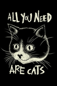 Estampa All You Need Are Cats