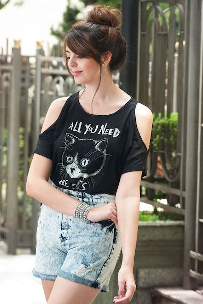 Camiseta All You Need Are Cats