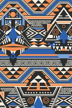 Estampa Bata Tribal