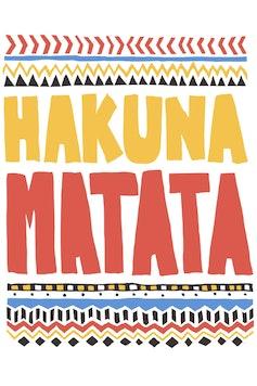Estampa Baby Body Hakuna Matata