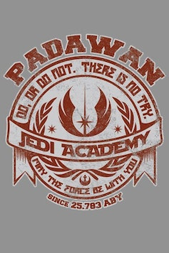 Estampa Baby Body Jedi Academy