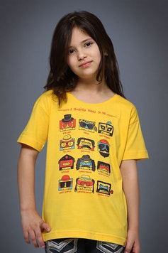 Camiseta Infantil Fábrica da MPB