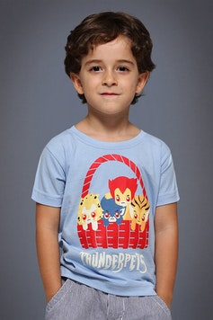 Camiseta Infantil Thunderpets