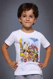Camiseta Infantil Brinquedos