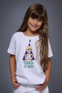 Camiseta Infantil Gandhi Lifestyle