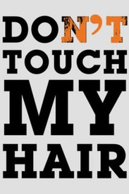 Estampa Camiseta Infantil Don't Touch My Hair