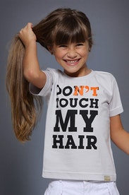 Camiseta Infantil Don't Touch My Hair