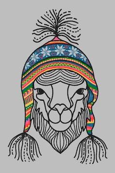 Estampa Camiseta Infantil Machu Picchu