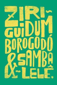Estampa Camiseta Infantil Ziriguidum