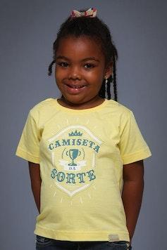 Infantil Camiseta da Sorte