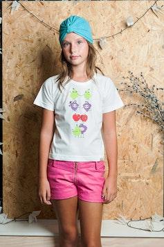 Camiseta Infantil Salada Mista